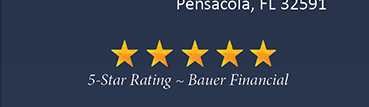 5-Star Rating From Bauer Financial