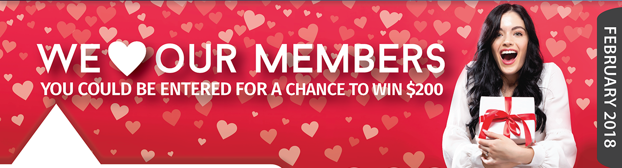 love our members chance to win $200