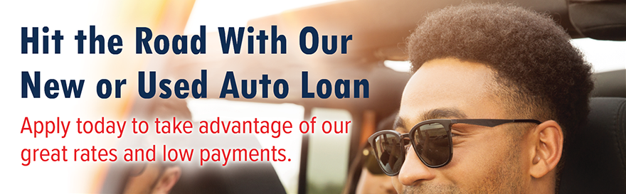 Hit the Raod With Our New or Used Auto Loan.  Apply today at membersfirstfl.org or call 850-434-2211.