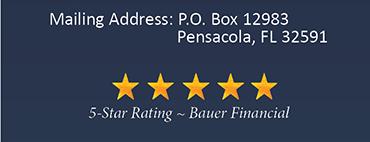 Mailing Address: PO Box 12983, Pensacola, FL 32591