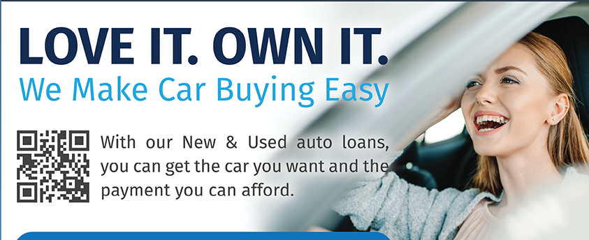You Love It. So Own It. We make care buying easy at Members First.  Apply today at membersfirstfl.org, call 850-434-2211, or visit one of our branch locations.