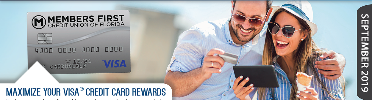 Maximize Your Credit Card Rewards.  Learn more at membersfirstfl.org/blog, call 850-434-2211, or stop by one of our branch locations.
